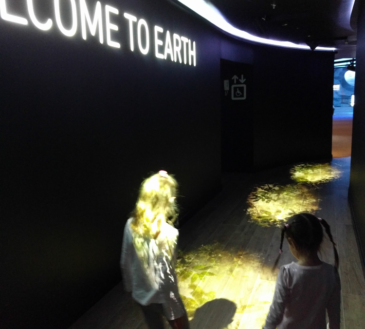 Go around the Earth at Orbi Dubai