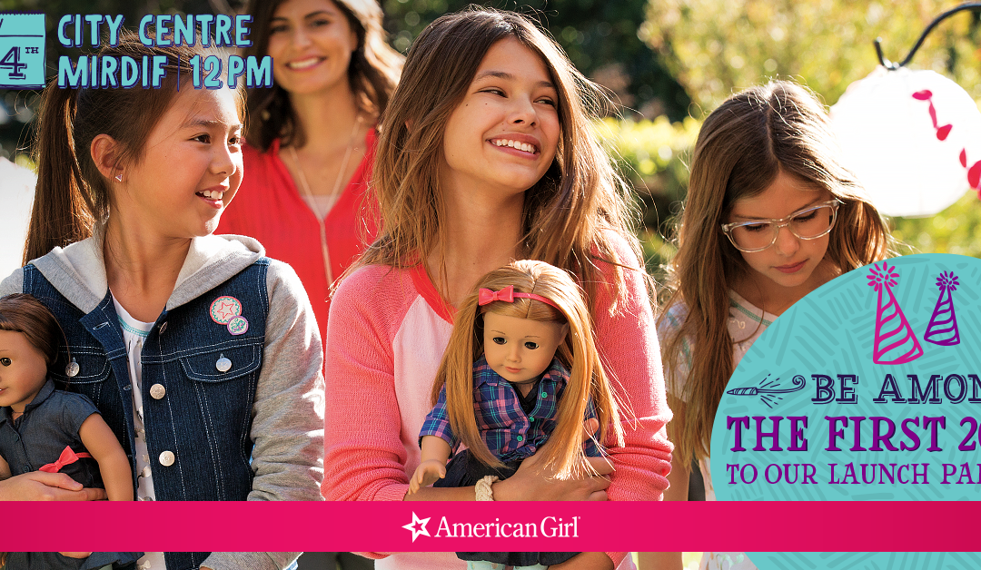 Competition time! American Girl Store is in Dubai!