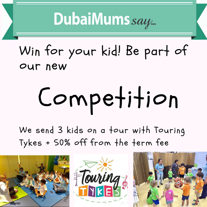 Touring Tykes, Competition, Dubai Mums