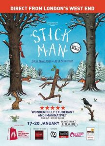 Stick Man, Popular Productions, Dubai Mums, competition