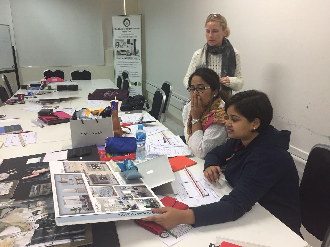 Full Circle Design, Interior design courses, Dubai Mums