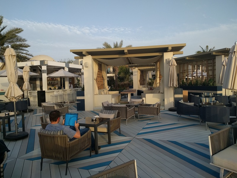Sol Bar, Holiday with kids, Hilton Ras Al-Khaima, Dubai Mums
