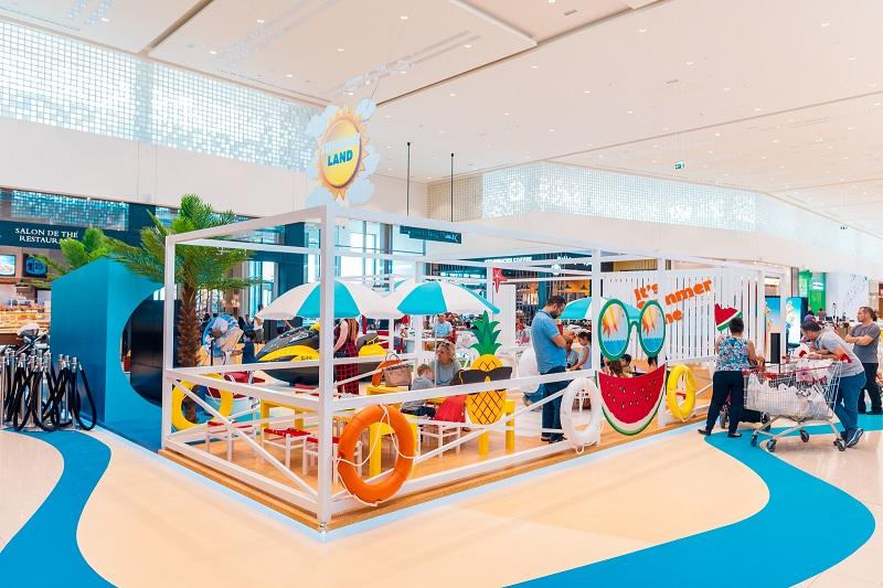 Kids 'Summerland' at City Centre Me'aisem