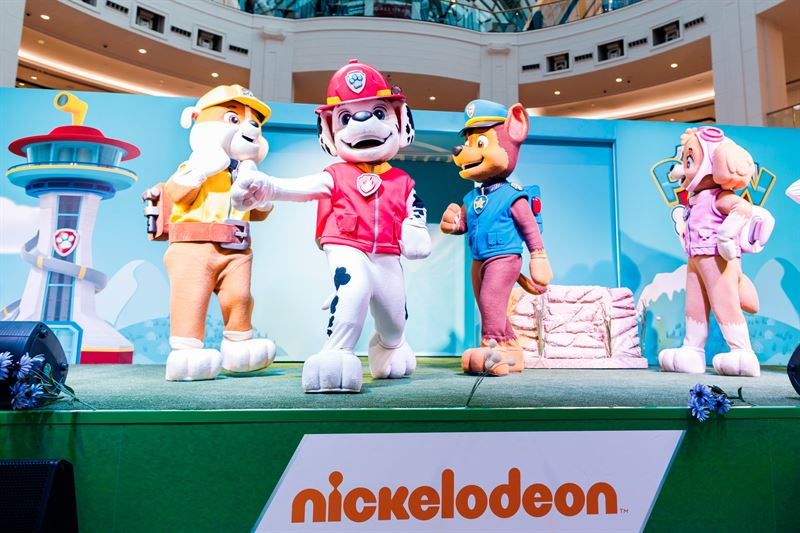 Catch Nickelodeon's Paw Patrol stage show and Adventure Bay activity zone at City Centre Mirdif