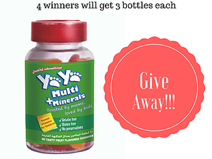 Two more days for YaYa Vitamins Competition! Dubai Mums say…