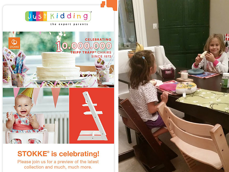 You do not have a Tripp Trapp by STOKKE®? You can win one!