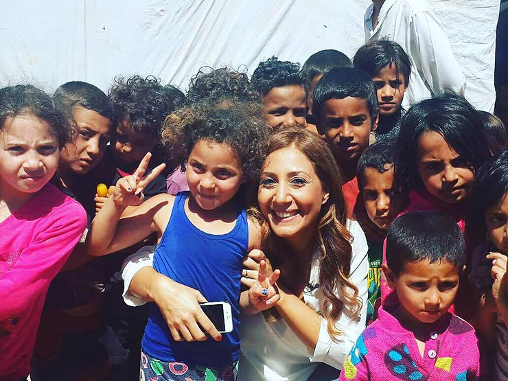 Mariam Farag, A Mum With Thousands Of Kids