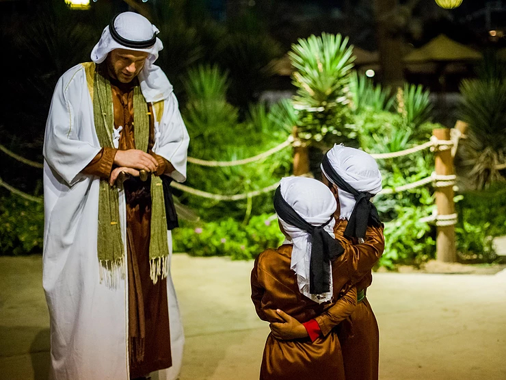 "Win 5 tickets for your family at ""Legends of Arabia"""