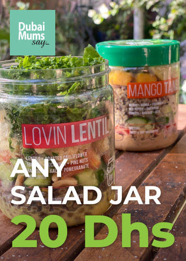 Get 1 Salad from Salad Jar for 20 Dhs